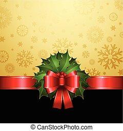 magyal, karácsony, háttér