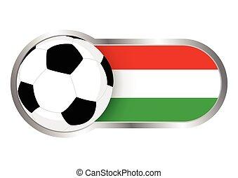 magyarország, jelvény, futballcsapat