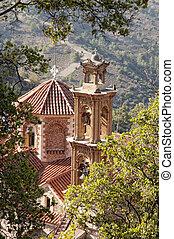 Mahairas Monastery. 12th century. Cyprus