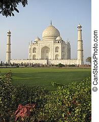 mahal, インド, taj