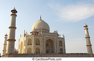 mahal, india, taj, agra