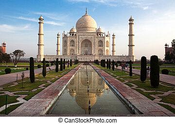 mahal, india, uttar pradesh, taj, agra
