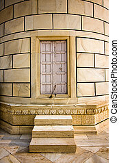 mahal, puerta, minarete, taj