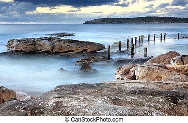 Mahon ocean rock pool Maroubra Australia