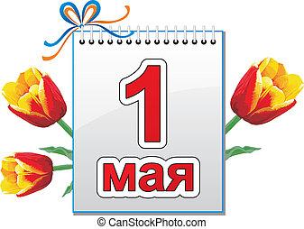 mai, 1, -, tag, fruehjahr