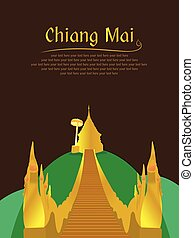 mai, doi, tailandia, suthep, chiang, norteño