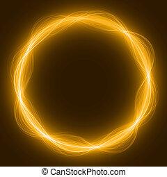 maic loop,energy ring - energy loop ring ( yellow colored,...