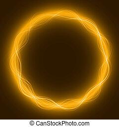 maic loop,energy ring - energy loop ring ( yellow...