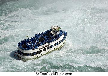 Maid of the Mist  - Niagara Falls Tourism ; Boat