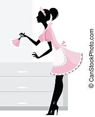 maid, poetsen