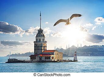 Maiden Tower in Turkey