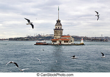 Maidens Tower in Istanbul