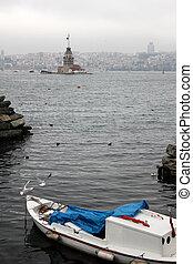 Maiden's Tower in Istanbul, Turkey