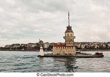 Maiden's Tower, Kiz Kulesi in istanbul,Turkey