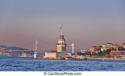 Maidens Tower - The Maidens Tower or Kizkulesi and the...