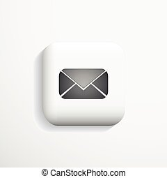 Mail 3d Icon.