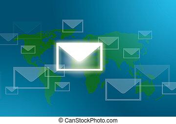 mail around the world