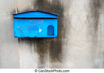 mail box on the wall