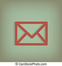 Mail Envelope Illustration