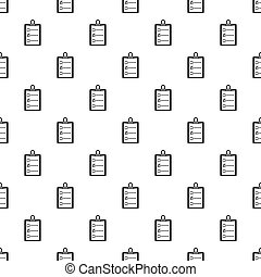 Mail envelope with a stamp pattern vector