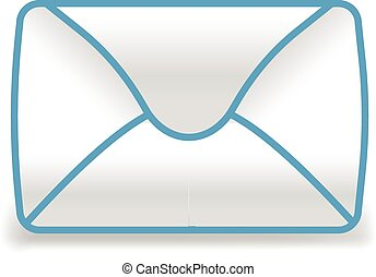mail icon illustration symbol sign