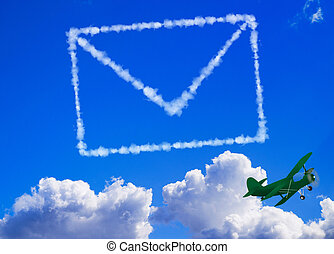 Mail in the sky