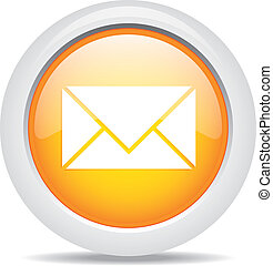 mail isolated on white background