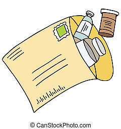 Mail Order Medication - An image of a mail order medication.