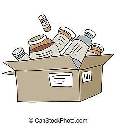 Mail Order Medication - An image of a mail order medication...
