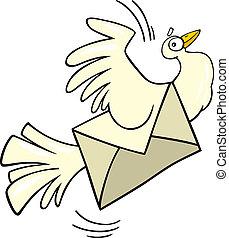 Mail pigeon