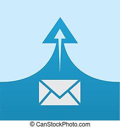 Mail Send Arrow