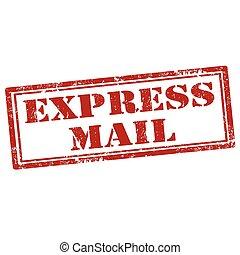 mail-stamp, ekspres