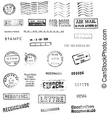 Mail stamps from around the world. These make great...