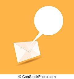 Mail Talk Bubble