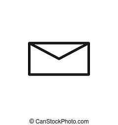 mail vector design template illustration