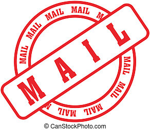 mail word stamp3