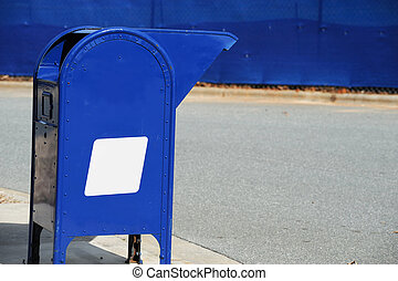 mailbox at the side of street