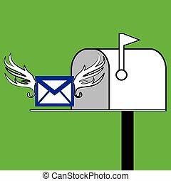 Mailbox icon.