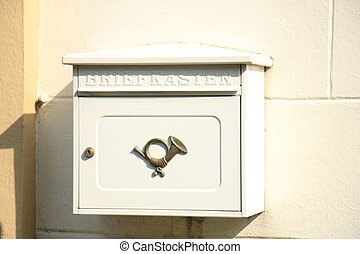 Mailbox in Germany - Vintage mailbox in Germany....