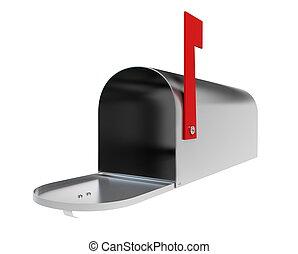 mailbox metall