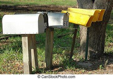 Mailbox & Newspaper