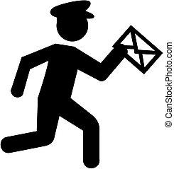 Mailman pictogram