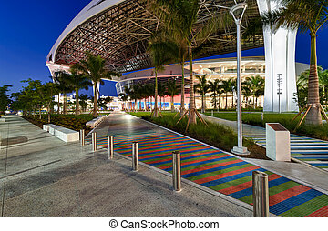 Main access to new Marlins Park