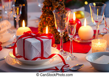 Main course as a Christmas gift