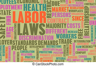 main-d'œuvre, lois