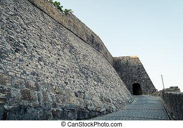 Main entrance to the Stari Grad in Ulcinj.