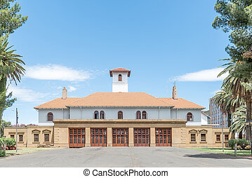 Main fire station in Bloemfontein