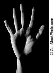 main humaine