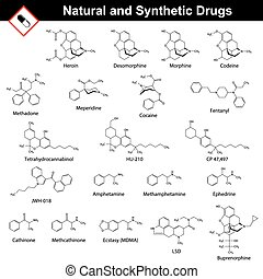 Main natural and synthetic drugs - structural chemical...