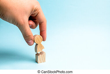 main, personne, contre, psychologique, figure, violence, support., assistance, gens, collects, trauma., émotif, traitement, rehabilitation., ensemble.